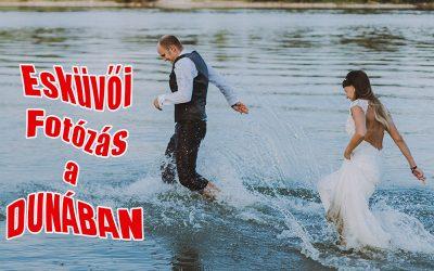 Kreatív fotózás a Dunában