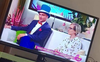 Cilinderesek (és egy poloska) a TV-ben!