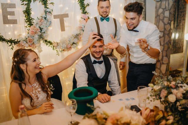 Tombola sorsolás az esküvőn